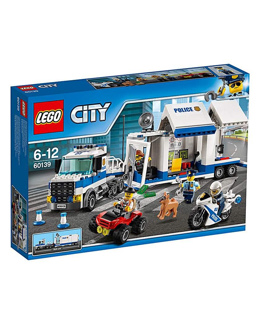 LEGO City Police Mobile Command Centre