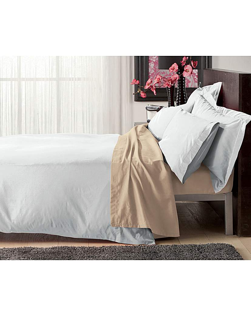 Image of Plain Dyed Egyptian Cotton Duvet Cover