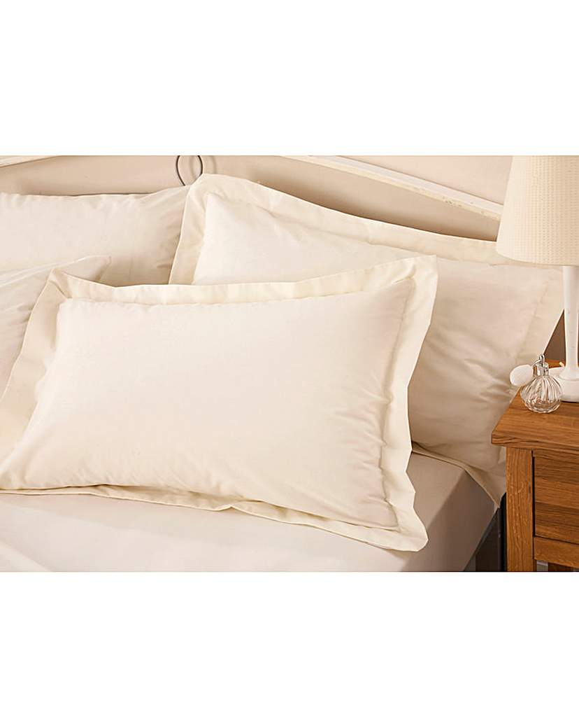Image of 200TC Percale Plain Dye Oxford P/cases