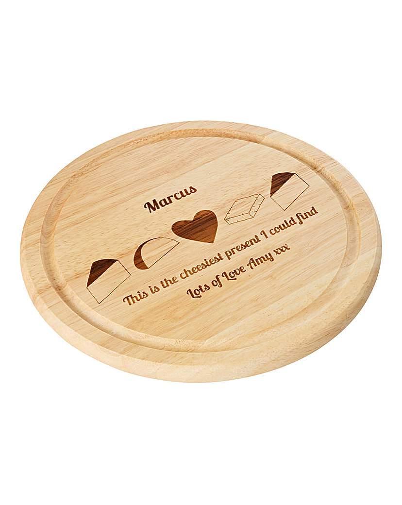 Personalised Cheesiest Cheese Board