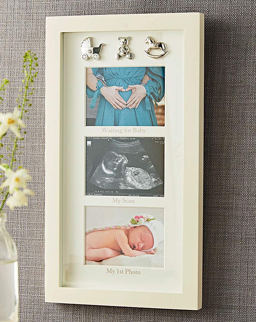 Image of Bambino waiting For Baby Collage Frame
