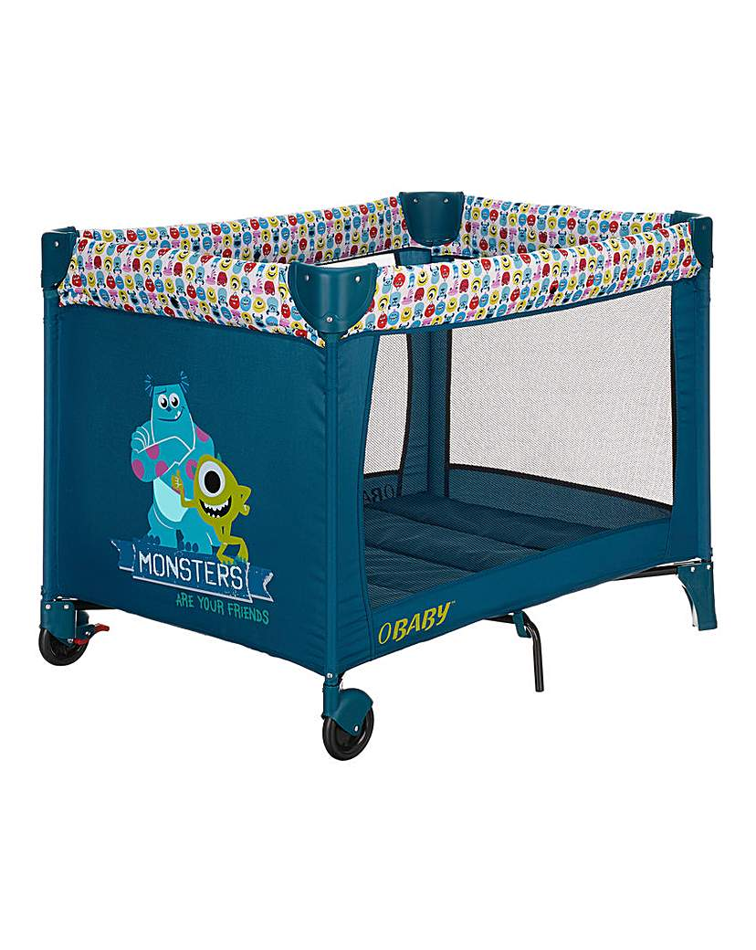Image of Disney Mosters Inc Bassinette Travel Cot