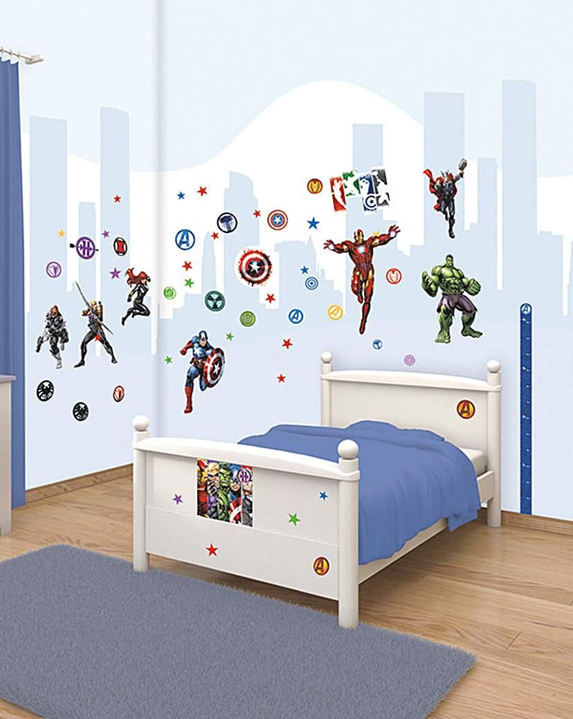Image of Avengers Assemble Room Decor Kit