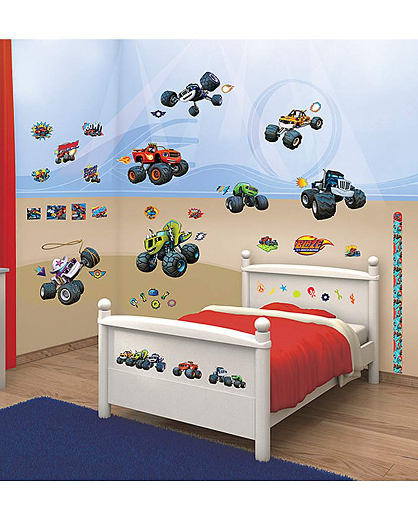 Image of Blaze and Monster Machines Room Decor