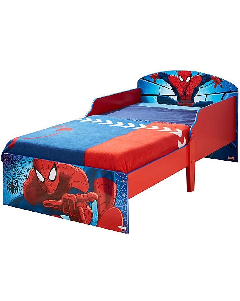 Image of Spider-Man Toddler Bed