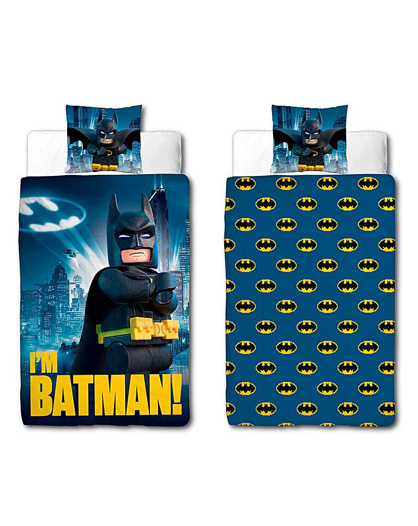 Image of Lego Batman Hero Panel Duvet
