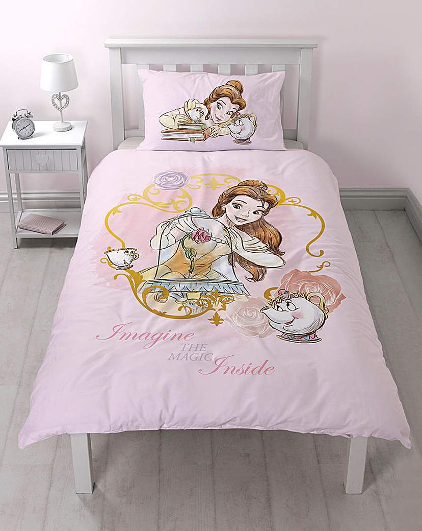 Image of Beauty & The Beast Panel Duvet