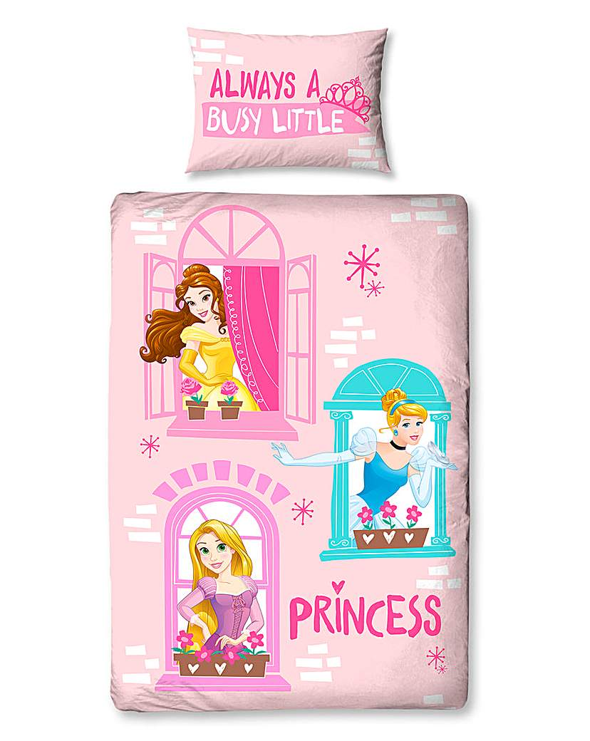 Image of Disney Princess Boulavard Panel Duvet