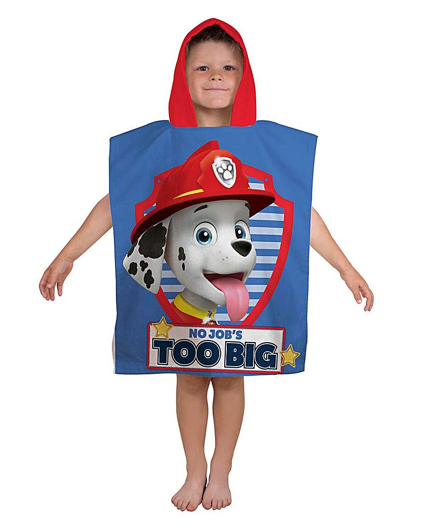 Image of Paw Patrol Pawesome Poncho