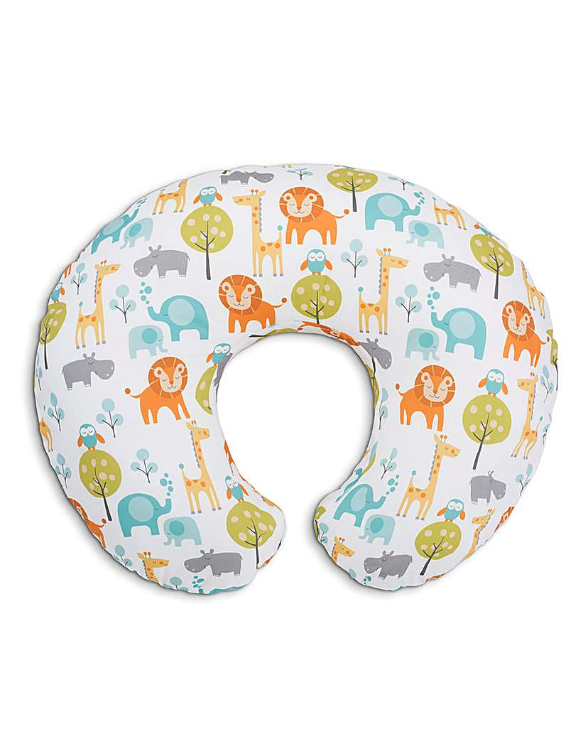 Image of Boppy Pillow With Cotton Slipcover