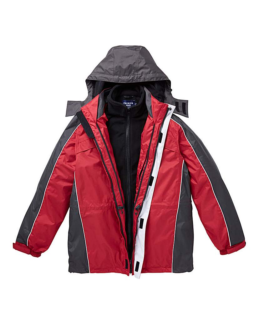 Product photo of Premier man 3 in 1 jacket