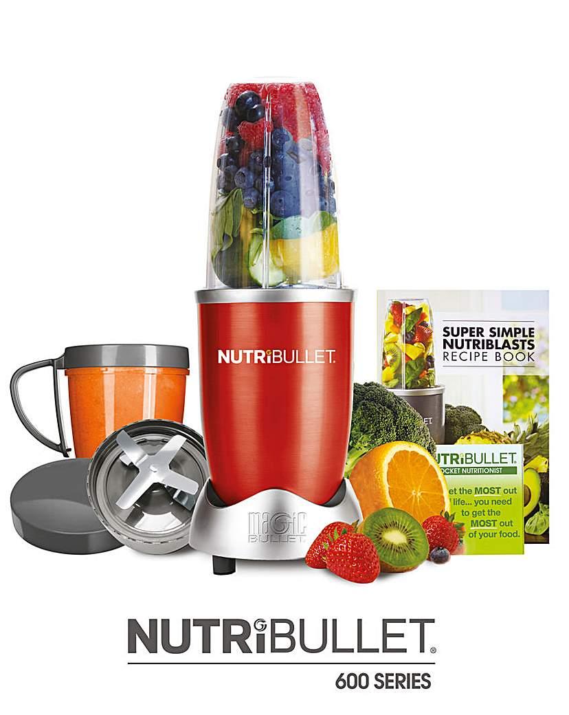 NutriBullet 600 Series Red