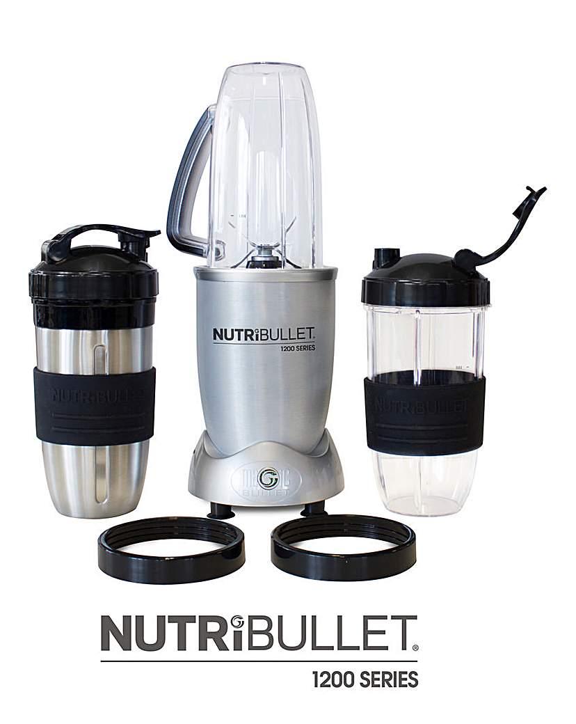 Nutri Bullet 1200 Series Silver