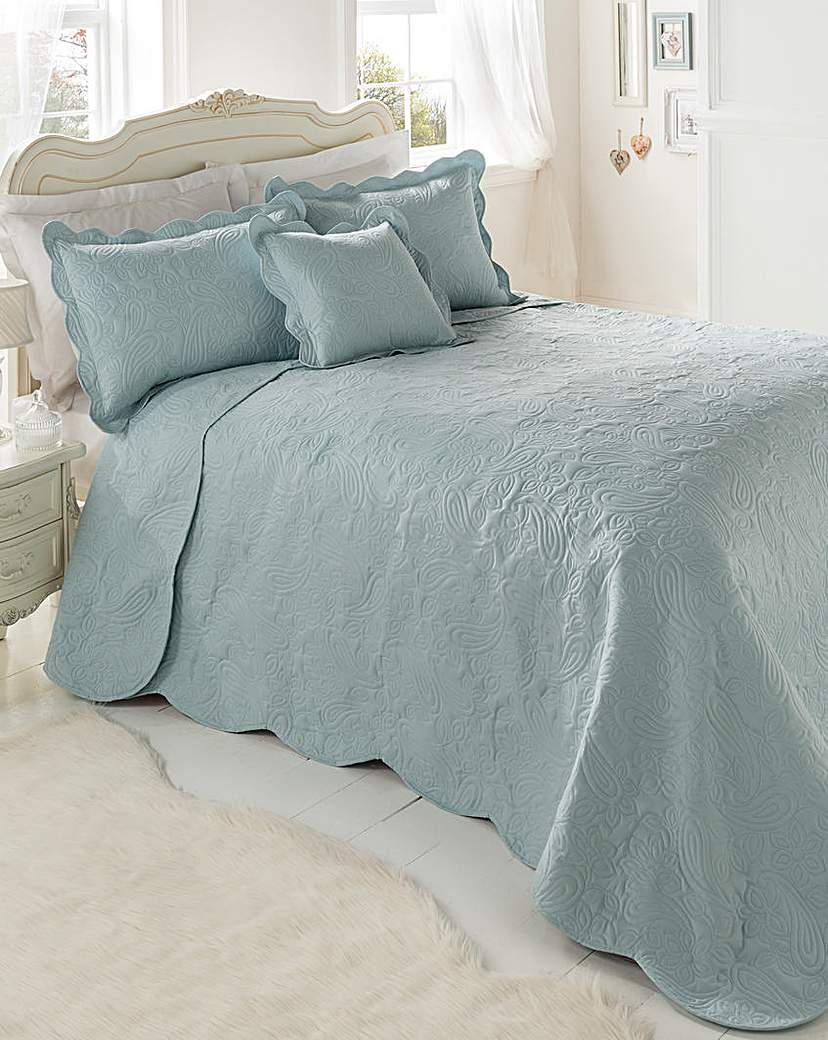 Image of Bliss Embossed Throwover Set