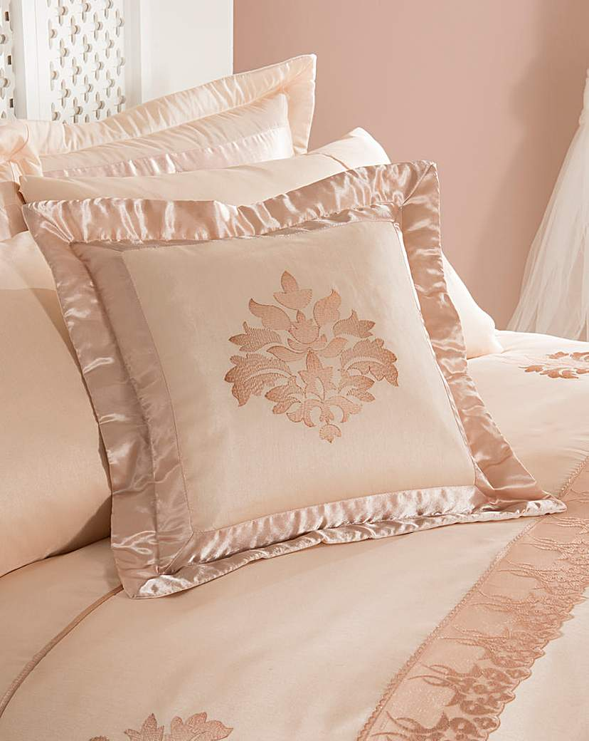 Image of Rose Gold Damask Cushion Covers