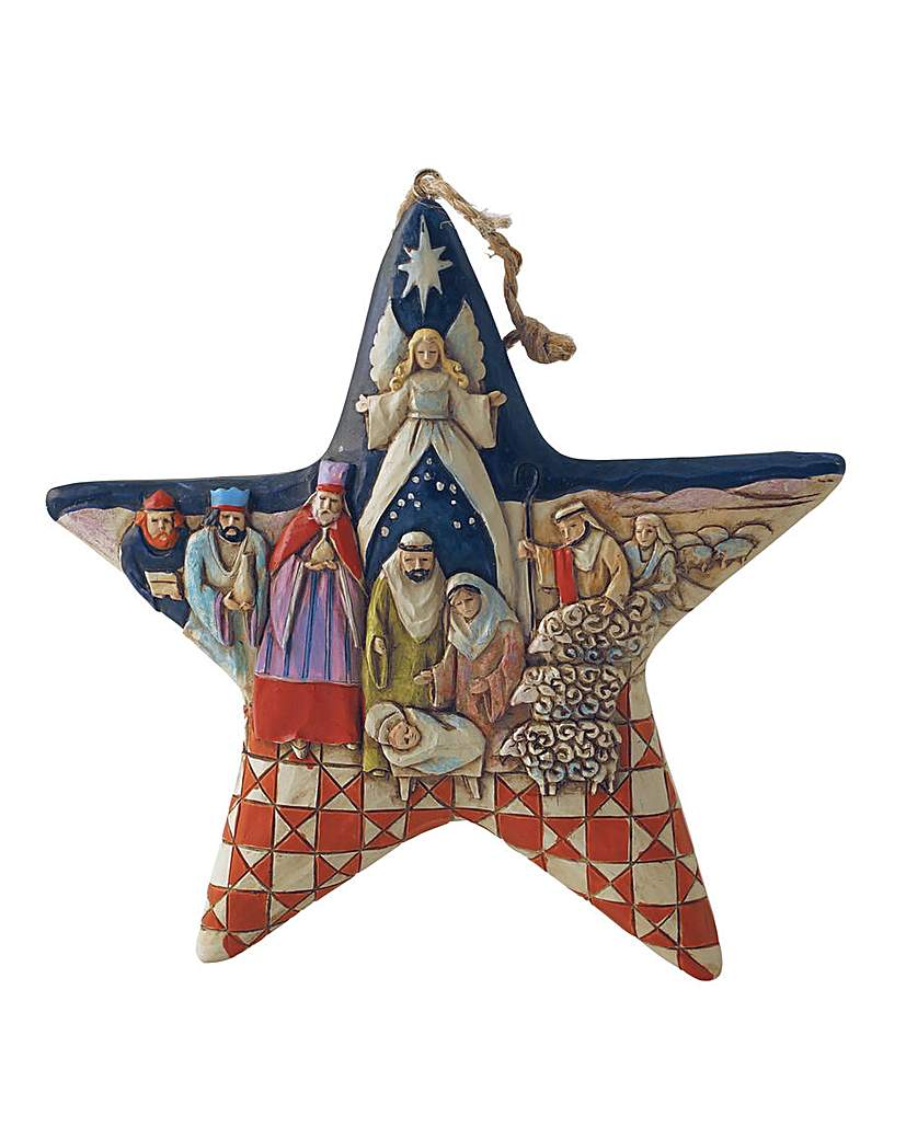 Image of Heartwood Creek Nativity Star