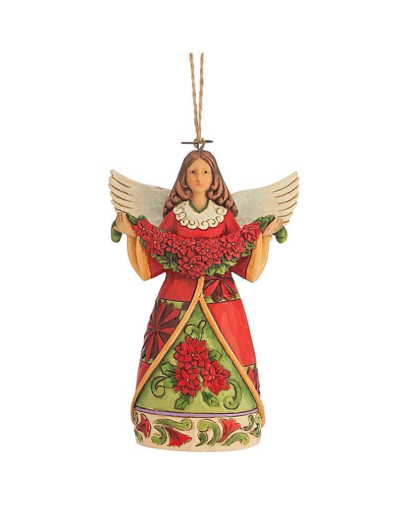 Image of Heartwood Creek Poinsettia Angel