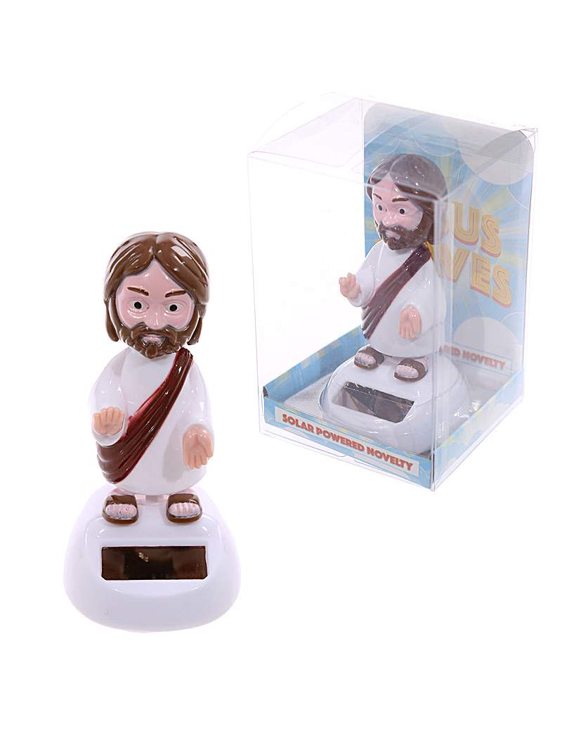 Novelty Solar Collectable - Jesus