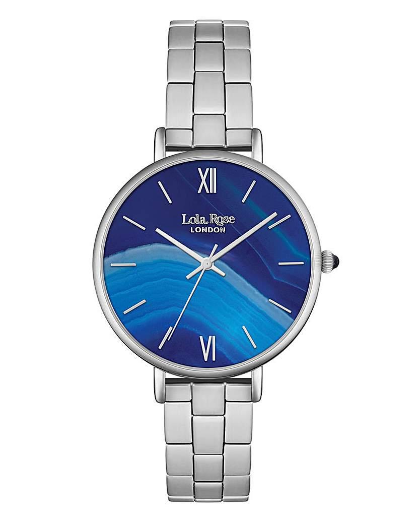 Lola Rose Bracelet Watch - Silver Tone