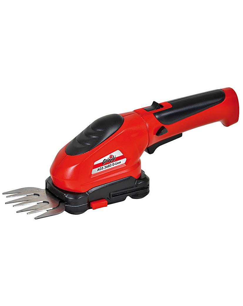 Grizzly AGS 3680 D Battery Power Shears.