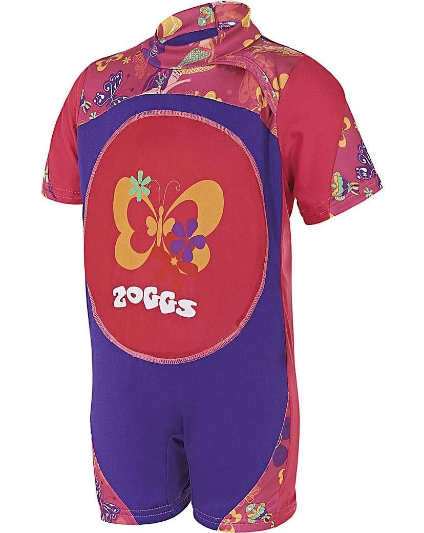 Zoggs Mermaid Flower Swimfree Floatsuit