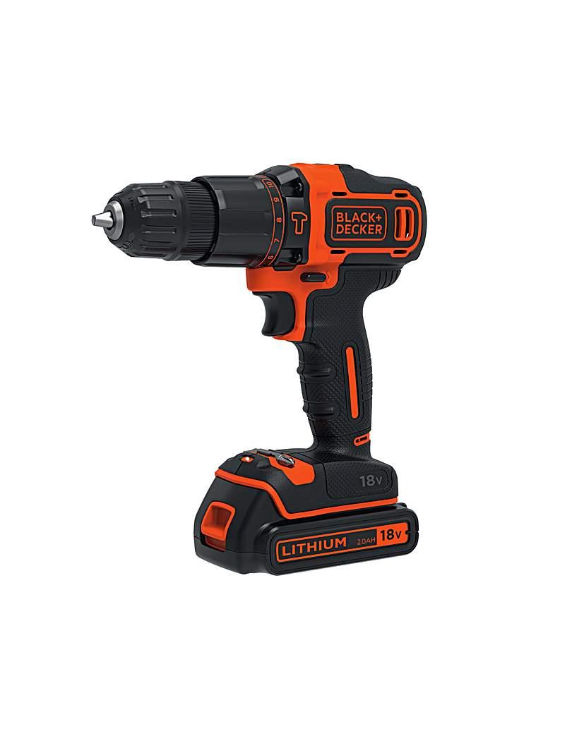 Image of 18v 2 Speed Combi Drill 1 Batt In Kitbox