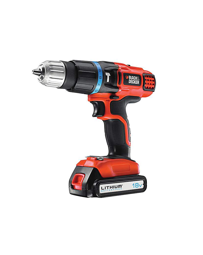 Image of 18v Li-ion 2 Gear Hammer Drill