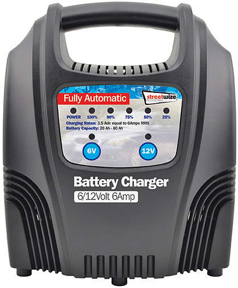 Image of 6 Amp LED Automatic Battery Charger