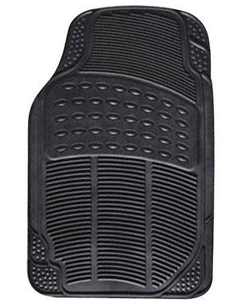 Image of 4 Pce Rubber Mat Set - Explorer - Black