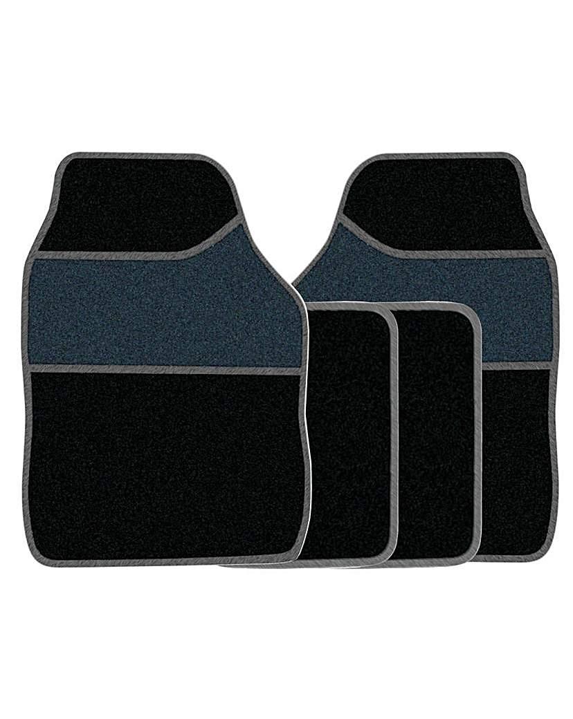 Image of 4 Pce Carpet Mat Set