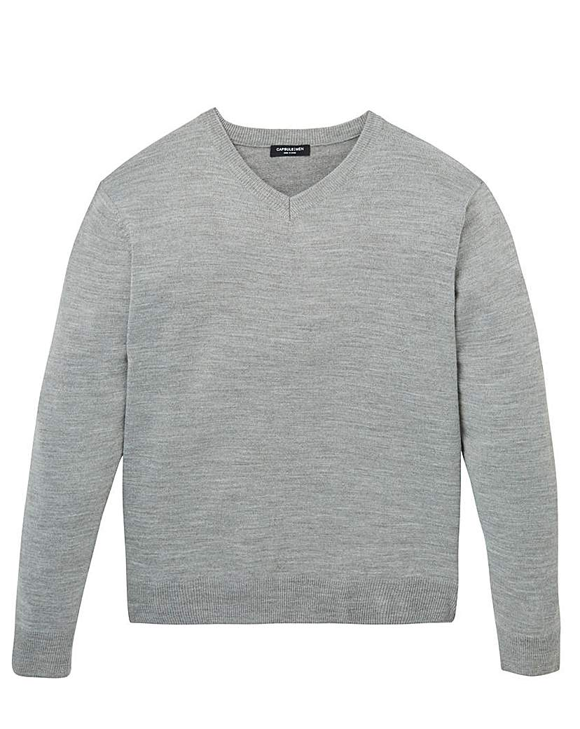 Image of Capsule V Neck Jumper