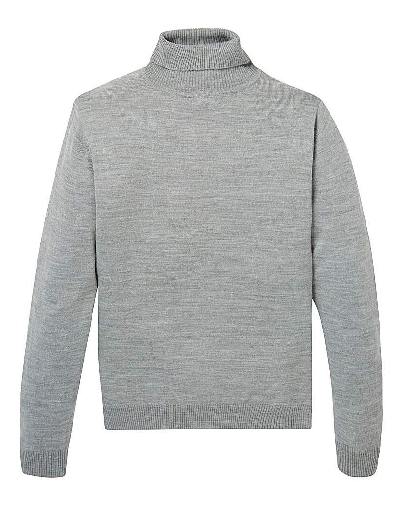 Image of Capsule Roll Neck Jumper