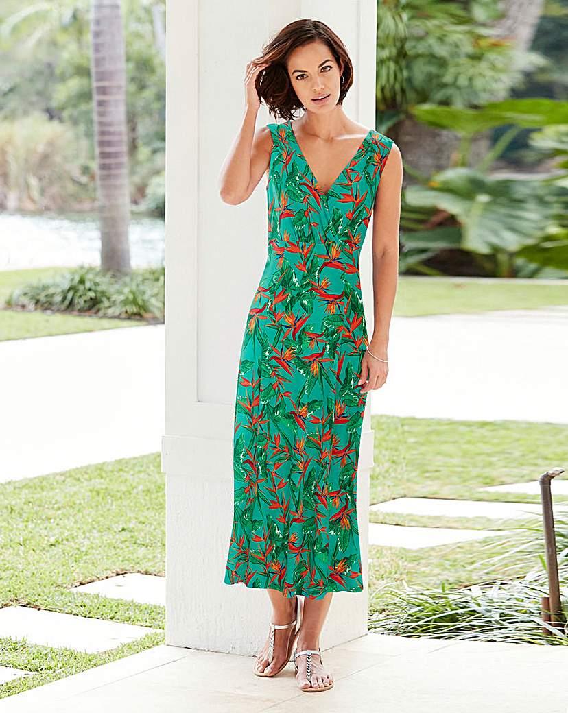 Joanna Hope Print Jersey Dress.