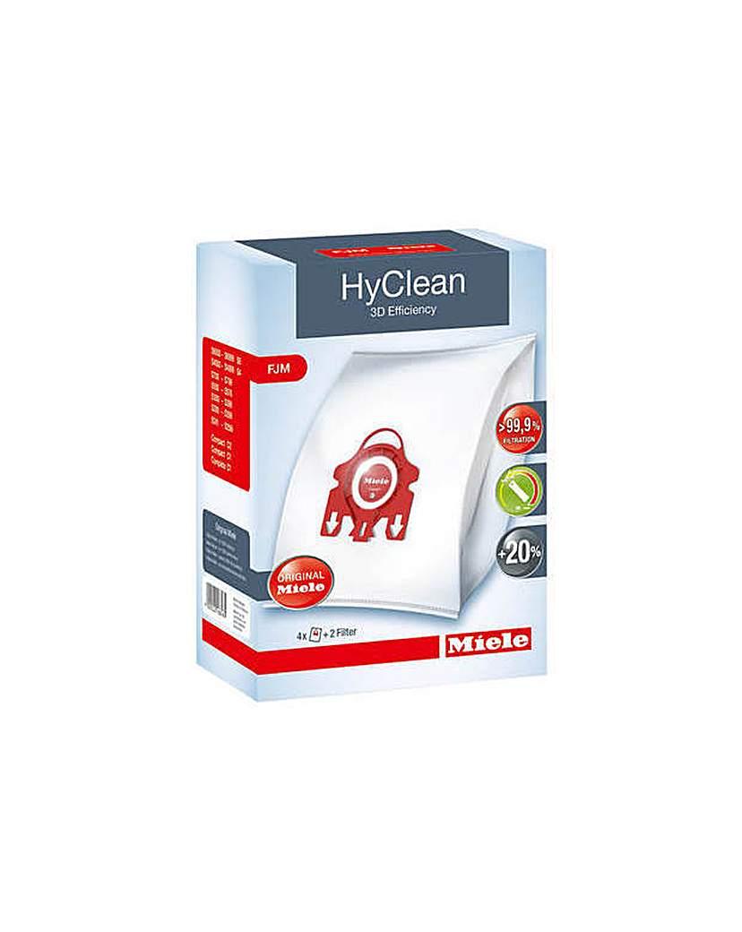 Pack of 4 Hyclean 3D Efficiency Dustbags