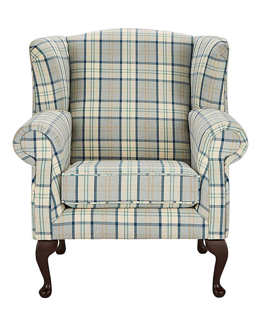 Image of Argyle Wing Chair