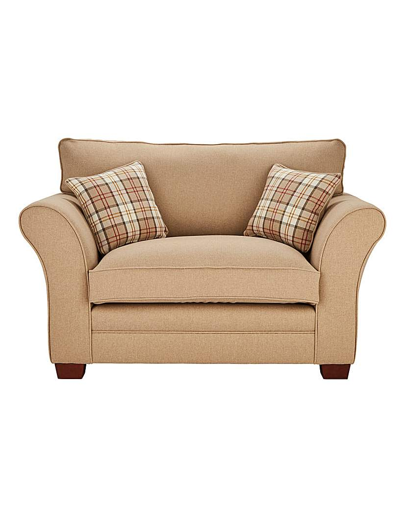 Image of Argyle Cuddle Chair