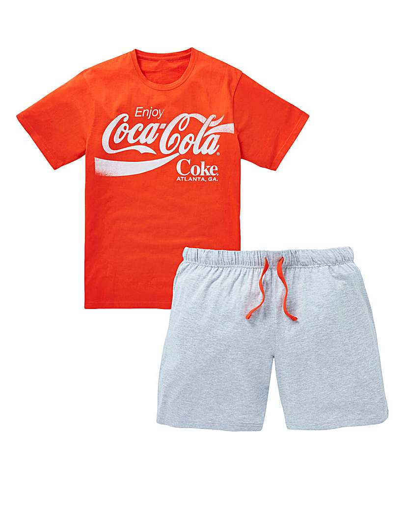 Image of Coca-Cola Shorts PJ Set