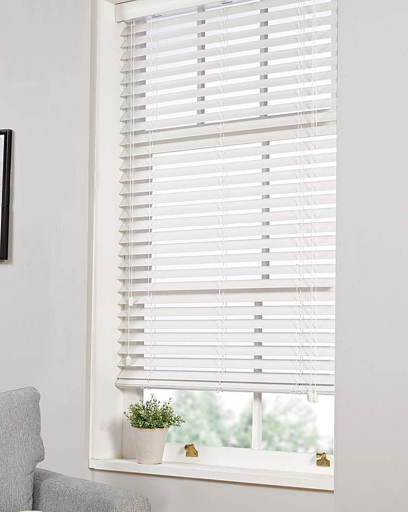 Image of Premium Wood-Effect Blind Extra Wide