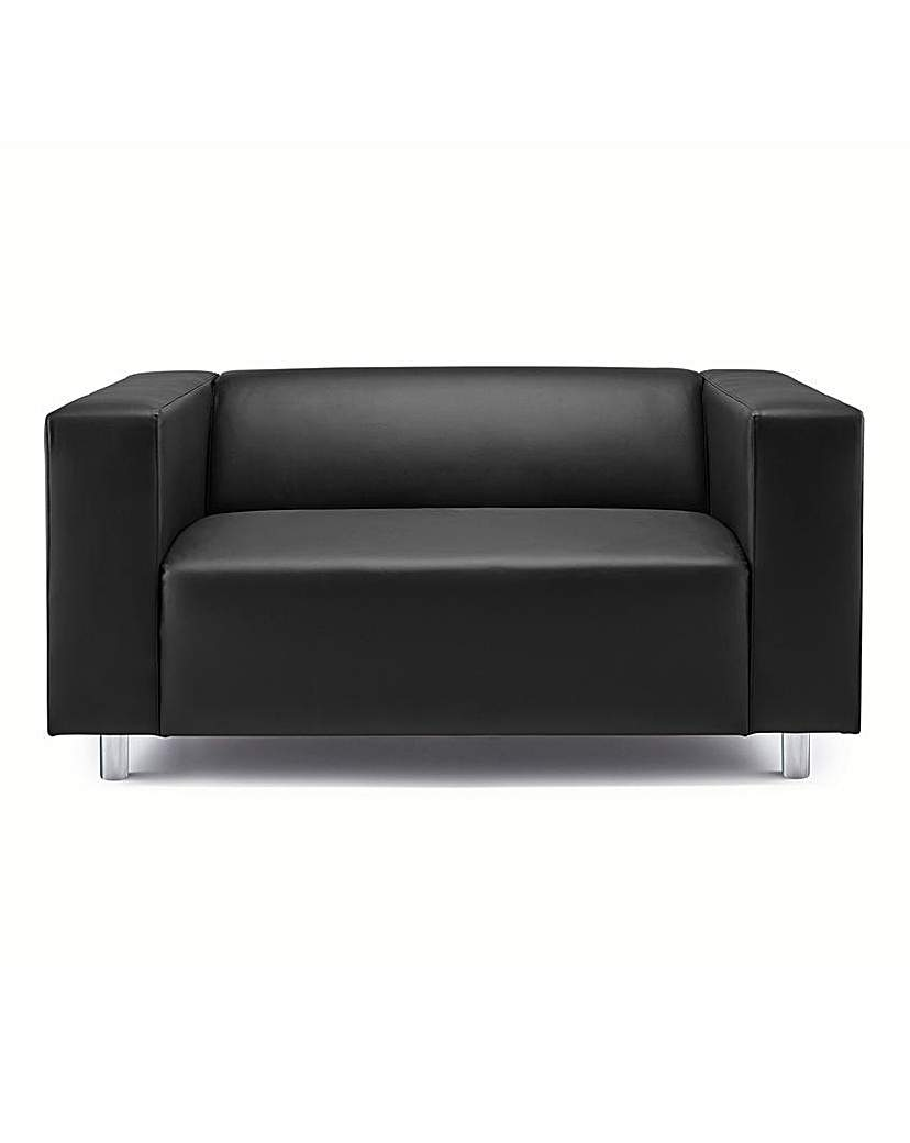 Image of Taylor Faux Leather Two Seater Sofa