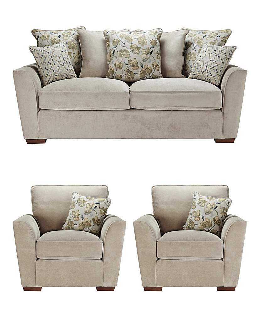 Eleanor Three Seater plus Two Chairs