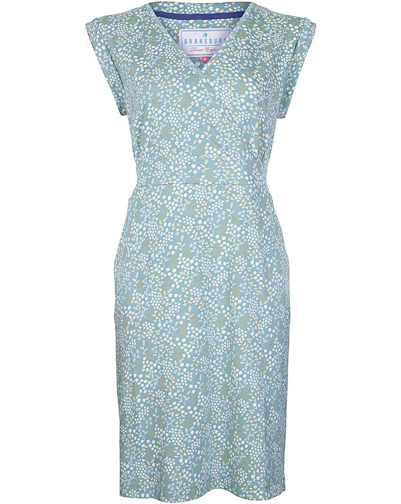 Blackburn Floral Wrap Dress