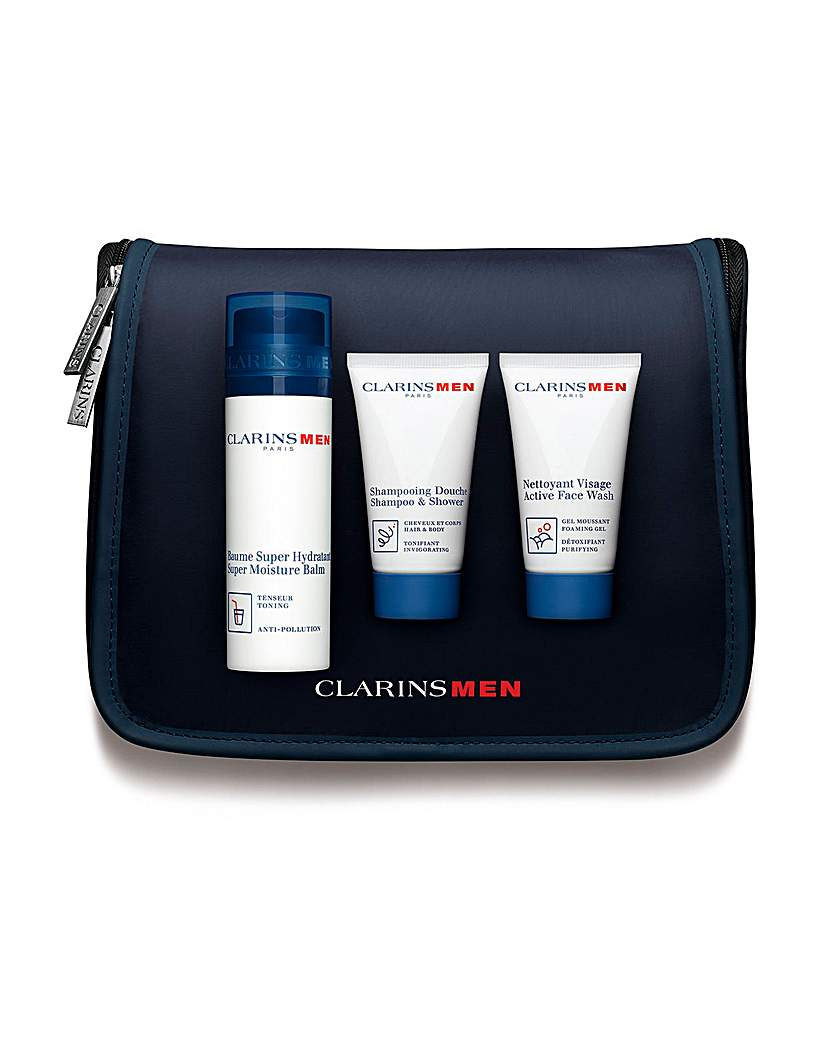 Image of Clarins Men Moisture Experts Gift Set