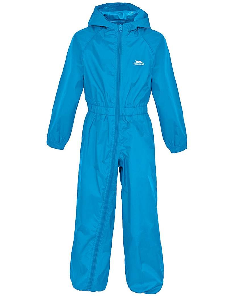 Trespass Button  Babies Rain Suit
