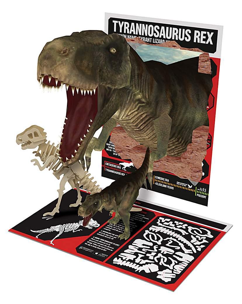 T- Rex 4D Wooden Jigsaw Puzzle
