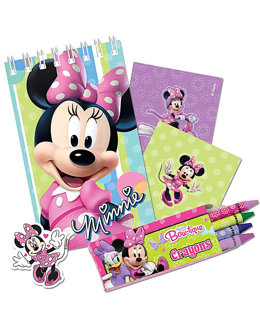 Image of Minnie Mouse Stationery Favours 5 x 4