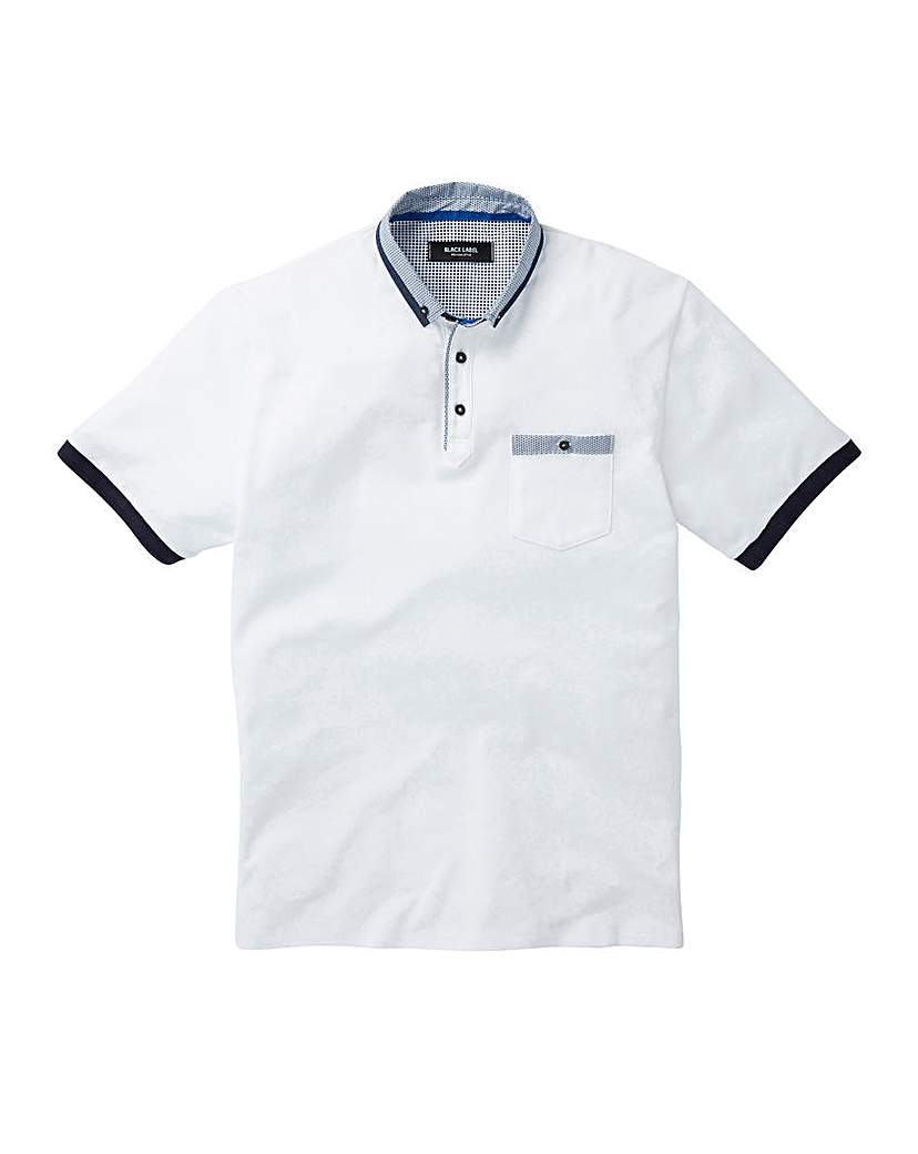 Black Label Pocket Trim Polo Regular