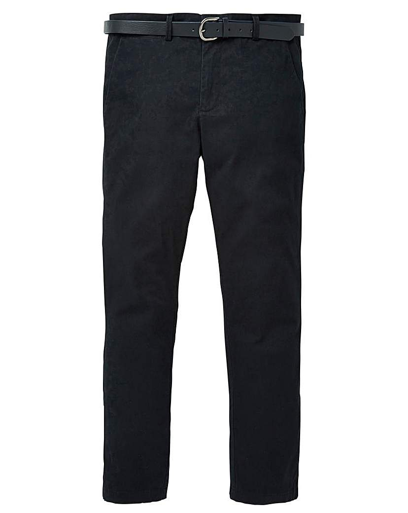 Image of Black Label Belted Smart Stretch Chino L