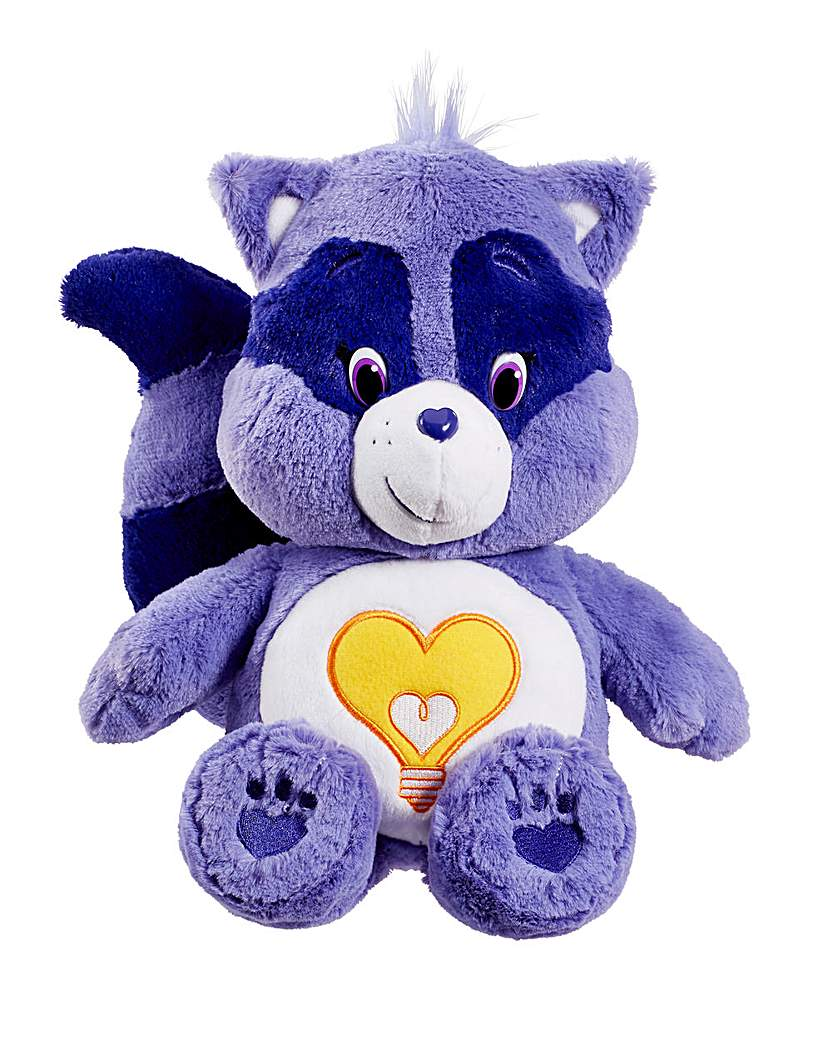 Image of Care Bears Plush with DVD Raccoon
