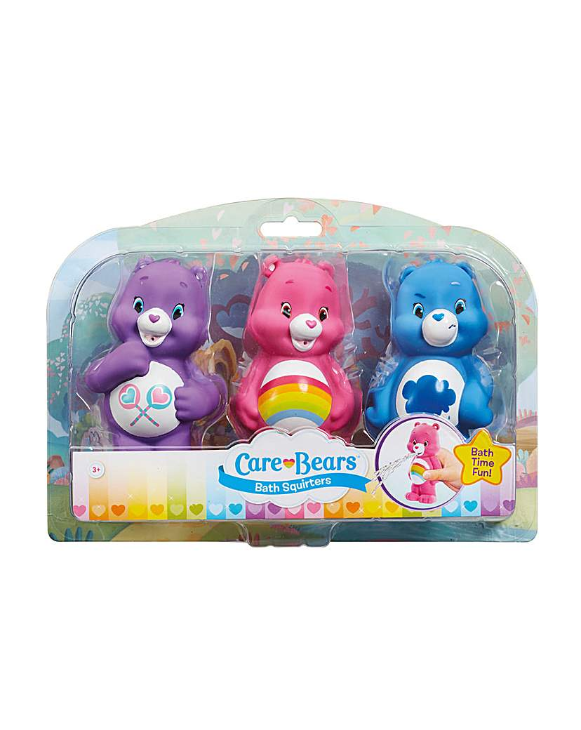 Image of Care Bears Bath Squirters 3 Pack