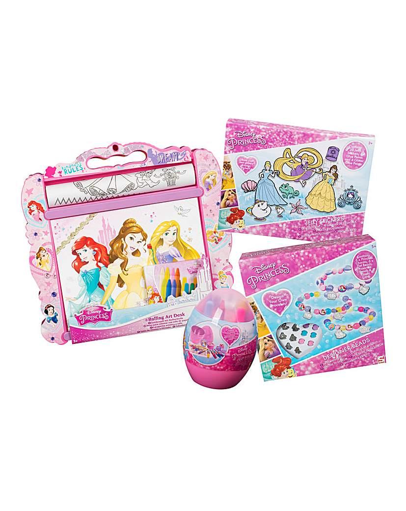 Image of Disney Princess Art & Crafts Bundle